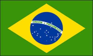 Die brasilianische Flagge