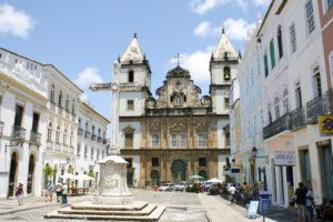 Eine Kirche in Salvador de Bahia. (Quelle: Jürgen Schübelin)