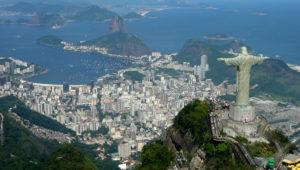 Die Bucht von Rio aus der Luft. (Quelle: mariordo@aol.com)