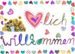 Herzlich willkommen auf Deutsch. (Quelle: Gunhild Aiyub)