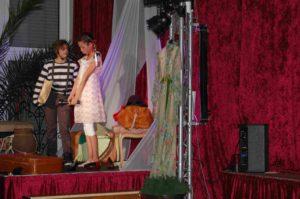 Szene aus dem Robinson-Musical. (Quelle: privat)