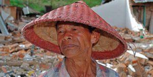 Ein alter Mann mit traditionellem Hut. (Quelle: Christian Jung)