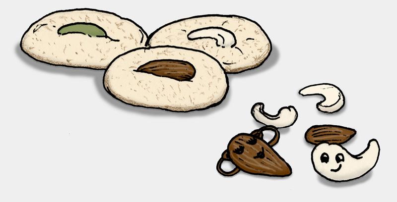 nankhatai-kekse