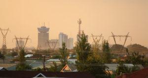 Die Stadt Lusaka in der Abenddämmerung. (Quelle: Rik Dekker/Wikimedia Commons)