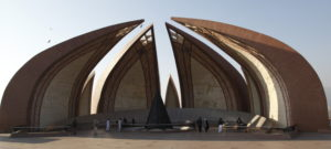Das Pakistan Monument in Islamabad. (Quelle: Christian Herrmanny)
