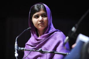 Malala kämpft für die Kinderrechte. (Quelle: Wikimedia Commons)