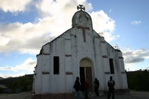 Eine Kirche in Haiti. (Quelle: Gerritzen/Burmann)