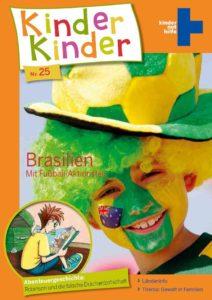 Titelbild Kinder, Kinder 25: Robinson in einer Favela in Brasilien. (Quelle: Peter Laux)