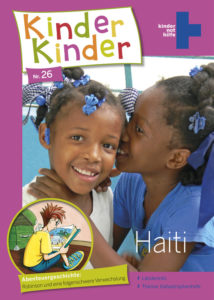 Titelbild Kinder, Kinder 26: Robinson in Haiti. (Quelle: Peter Laux)