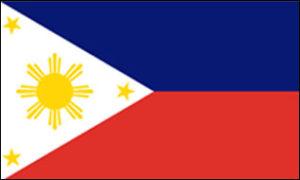 Die philippinische Flagge