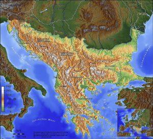 Der Balkan. (Quelle: Wikimedia Commons/Captain Blood)