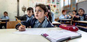 Libanesisches Mädchen im Unterricht. (Quelle: Jakob Studnar)