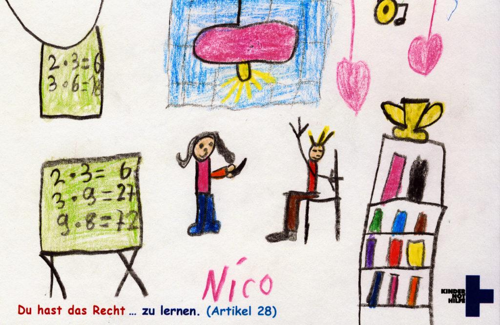 Kinderzeichnung. (Quelle: privat)