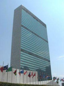 Hauptquartier der Vereinten Nationen. (Quelle: User PerryPlanet-/Wikimedia Commons)