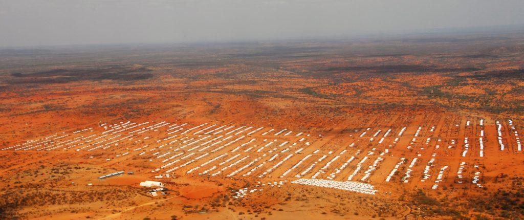 Ein riesiges Flüchtlingslager in Äthiopien an der Grenze zu Somalia. (Quelle: Dietmar Roller)