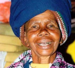 Eine alte Südafrikanerin. (Quelle: Christoph Engel)