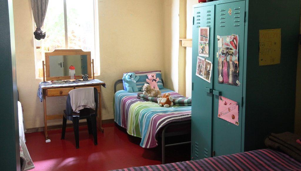 Ein Zimmer für ehemalige Straßenmädchen im Lerato-House. (Quelle: Ralf Krämer)