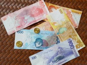 Philippinische Pesos. (Quelle: Christoph Dehn)