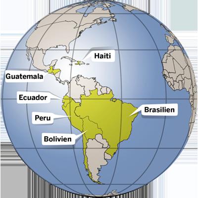 Länderinfos zu Lateinamerika und der Karibik