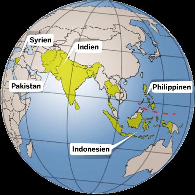 Länderinfos Asien