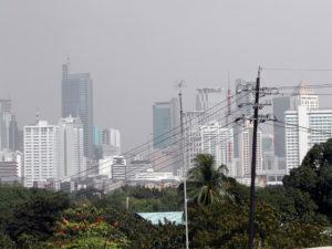 Smog über Manila. (Quelle: Christoph Dehn)
