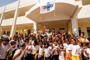 Eröffnung einer neuen Kindernothilfe-Schule. (Quelle: Kidlat de Guia)