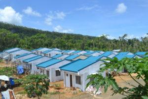 Die Kindernothilfe lässt nach Taifun Haiyan neue Häuser bauen. (Quelle: Kindernothilfe))