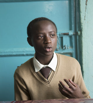 Bonnie, Präsident des Schülerparlaments der Falling Waters School. (Quelle: Christian Nusch)