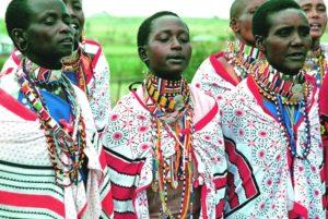 Massai-Frauen. (Quelle: Jens Großmann)