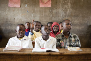 Eine Schule in Nairobi. (Quelle: Frank Rothe)