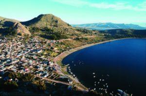 Der Titicaca-See. (Quelle: Christoph Engel)