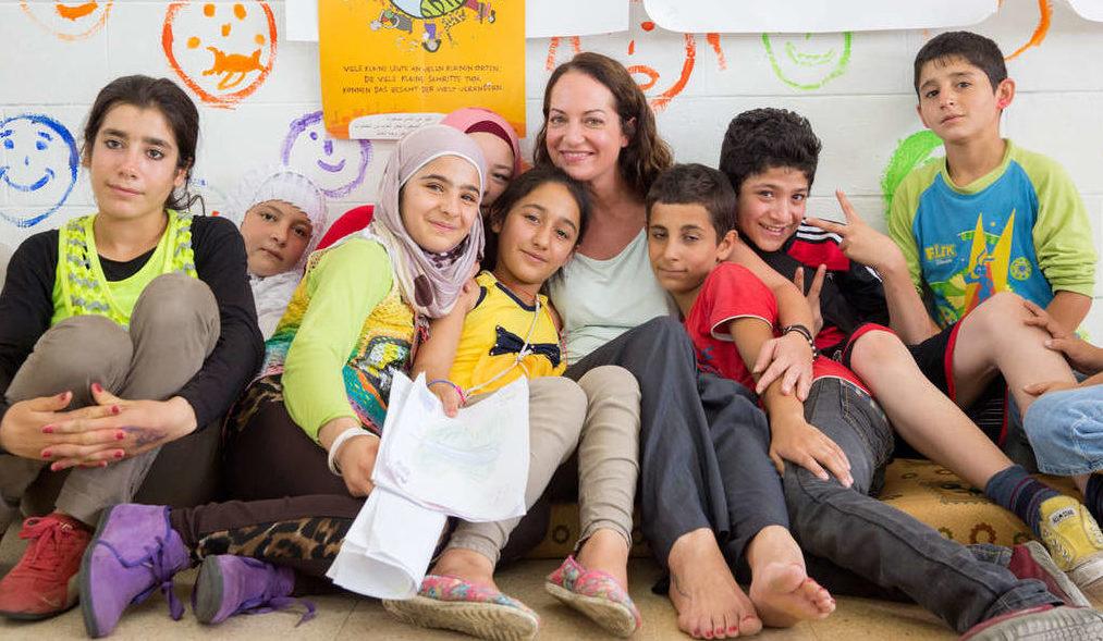 Syrische Flüchtlinge im Kindernothilfe-Projekt im Libanon. (Quelle: Frank Rothe)