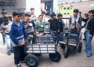 Registrierte Kinderarbeiter aus Peru, die von einem Projekt unterstützt werden. (Quelle: Jürgen Schübelin)