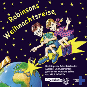 Cover der CD Robinsons Weihnachtsreise. (Quelle: Peter Laux)