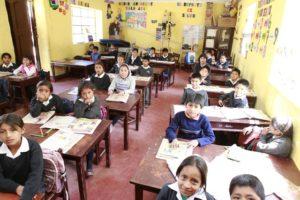 Eine Schule in Cajamarca. (Quelle: Christian Herrmanny)