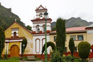 Eine peruanische Kirche. (Quelle: Jürgen Schübelin)