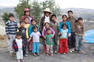 Eine peruanische Kindergruppe. (Quelle: Christian Herrmanny)