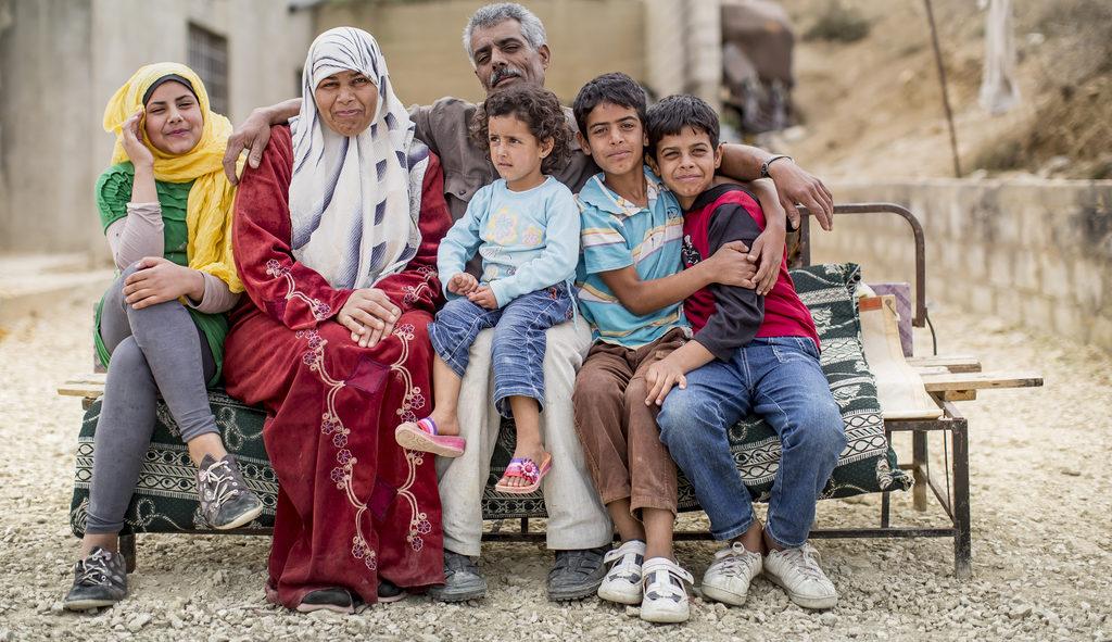 Eine syrische Familie. (Quelle: Jakob Studnar)