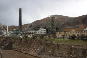 Das Hüttenwerk der Firma Doe Run in La Oroya. (Quelle: Imke Häusler)