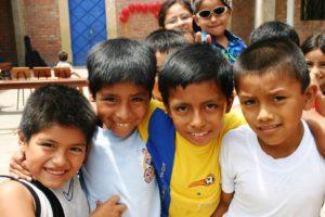 Jungen in einem peruanischen Kindernothilfe-Projekt. (Quelle: Michaela Dacken)