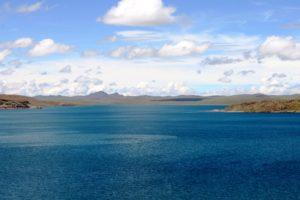 Der Titicaca-See. (Quelle: Jürgen Schübelin)