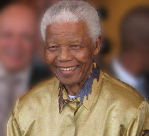 Nelson Mandela im Jahr 2008. (Quelle: South Africa The Good News / www.sagoodnews.co.za)