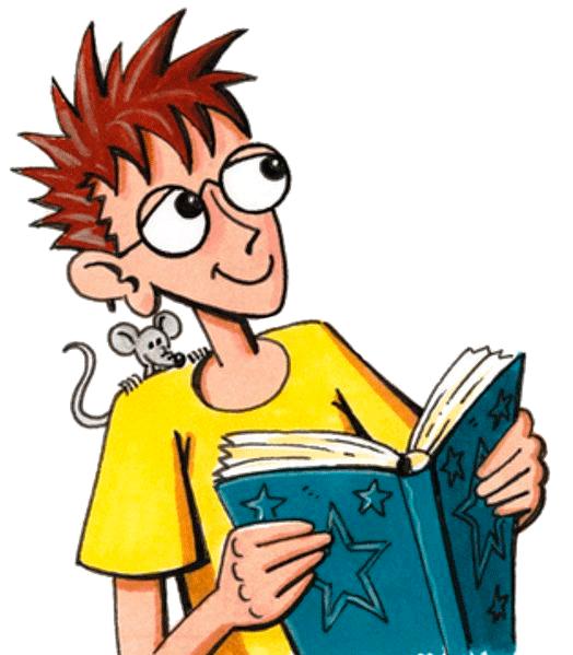 Robinson-Figur mit Buch in der Hand. (Quelle: Peter Laux)