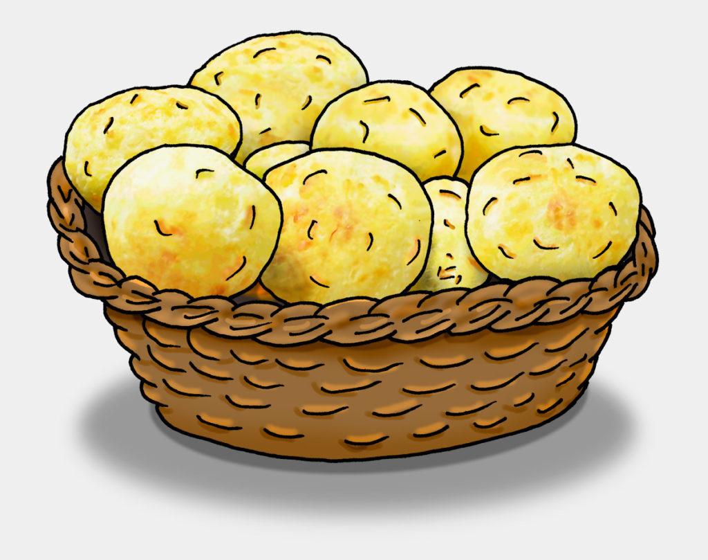 Käsebällchen, Pão de Queijo