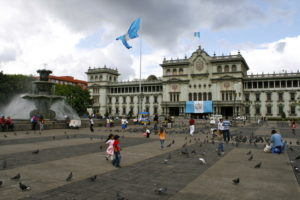Die Hauptstadt Guatemala-Ciudad