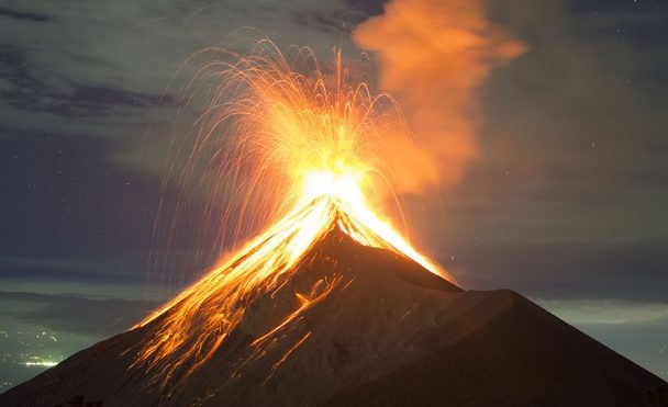 Der Vulkan Fuego. (Quelle: iStock)