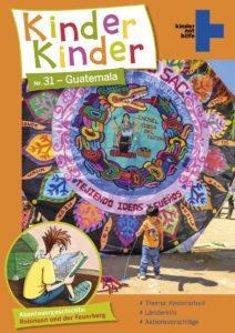 Kinder, Kinder 31: Titelbild - ein Riesendrachen aus Guatemala. (Quelle: Angela Richter/iStock)